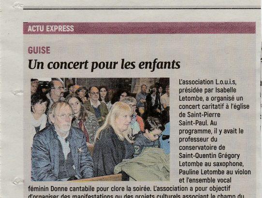 Concert à Guise