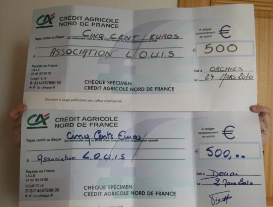Un grand merci au Crédit Agricole  Nord de France